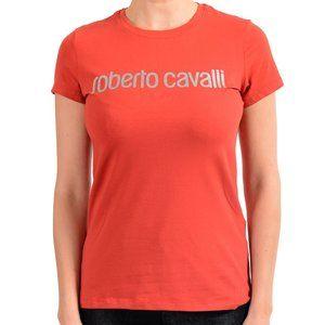 Roberto Cavalli Sport Women's Red Graphic T-Shirt